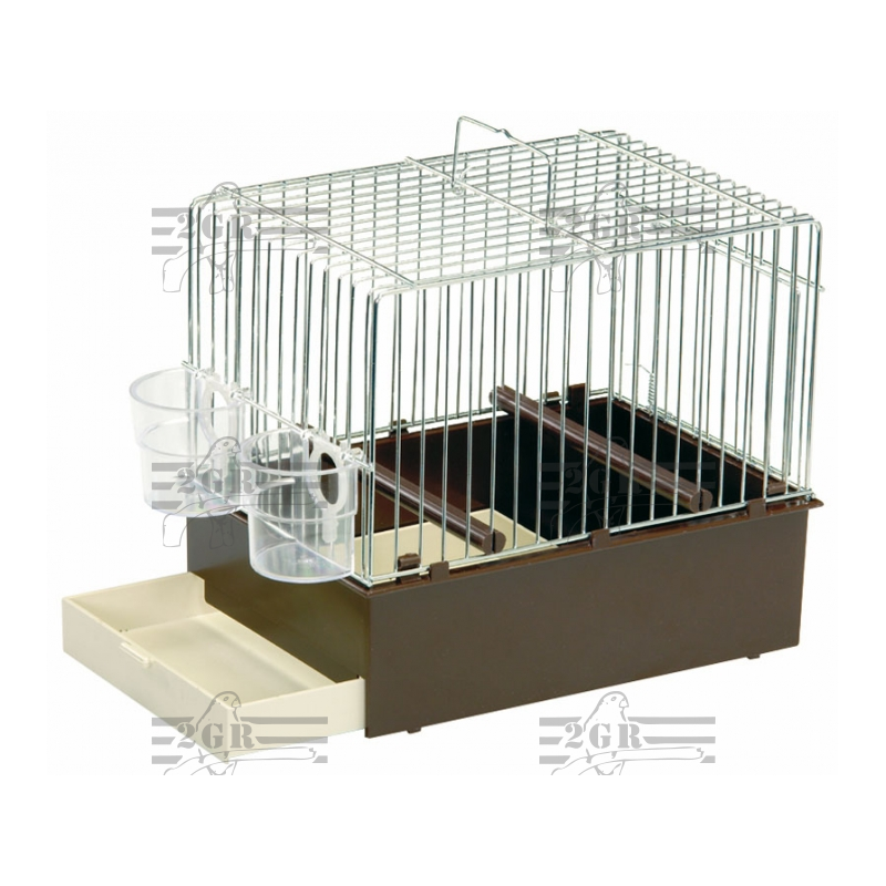 songbird cage with plastic bottom 2gr 020. Black Bedroom Furniture Sets. Home Design Ideas