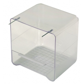 Bañera Transparente con Alambres