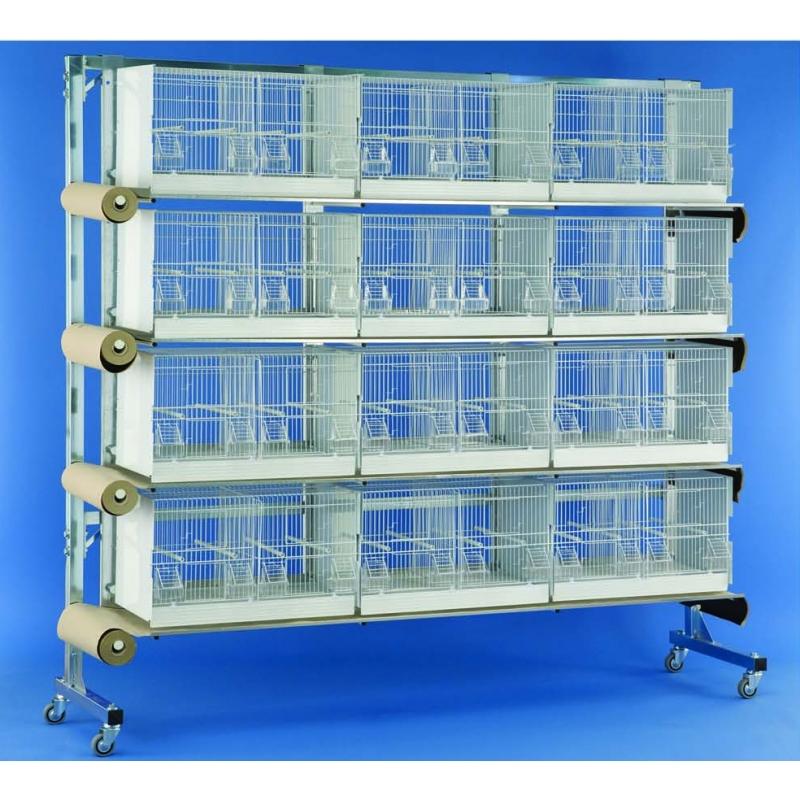 Bater a de jaulas con sistema de limpieza petco - Modulos de canarios ...