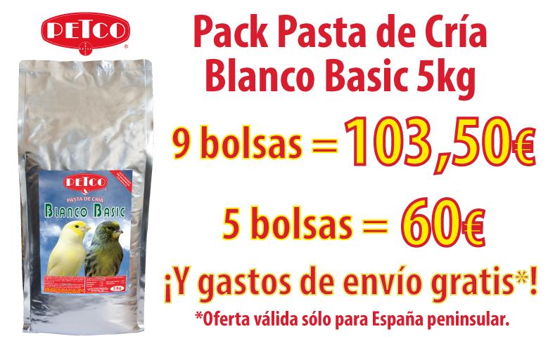 Packs de Blanco Basic 5kg